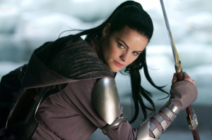 Wa-chaa! It's Lady Sif